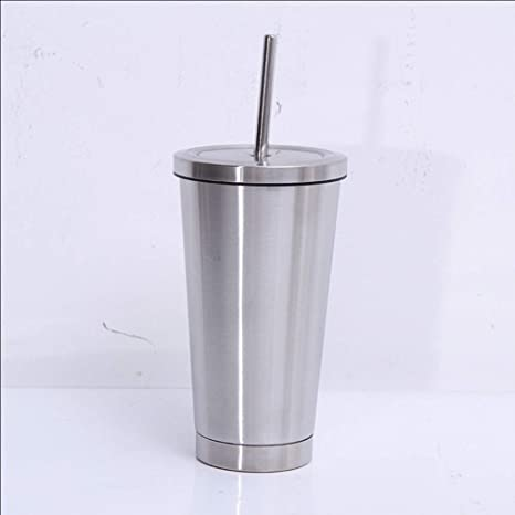 Amazon.com: IKO Thermos,with Lids and Straws Double Wall Vacuum ...