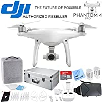 DJI Phantom 4 Pro Quadcopter Drone - CP.PT.000488 - Carrying Case + Virtual Reality Accessory Bundle