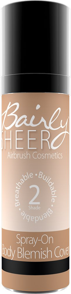 Sephora collection perfection mist airbrush for Bairly sheer tattoo cover