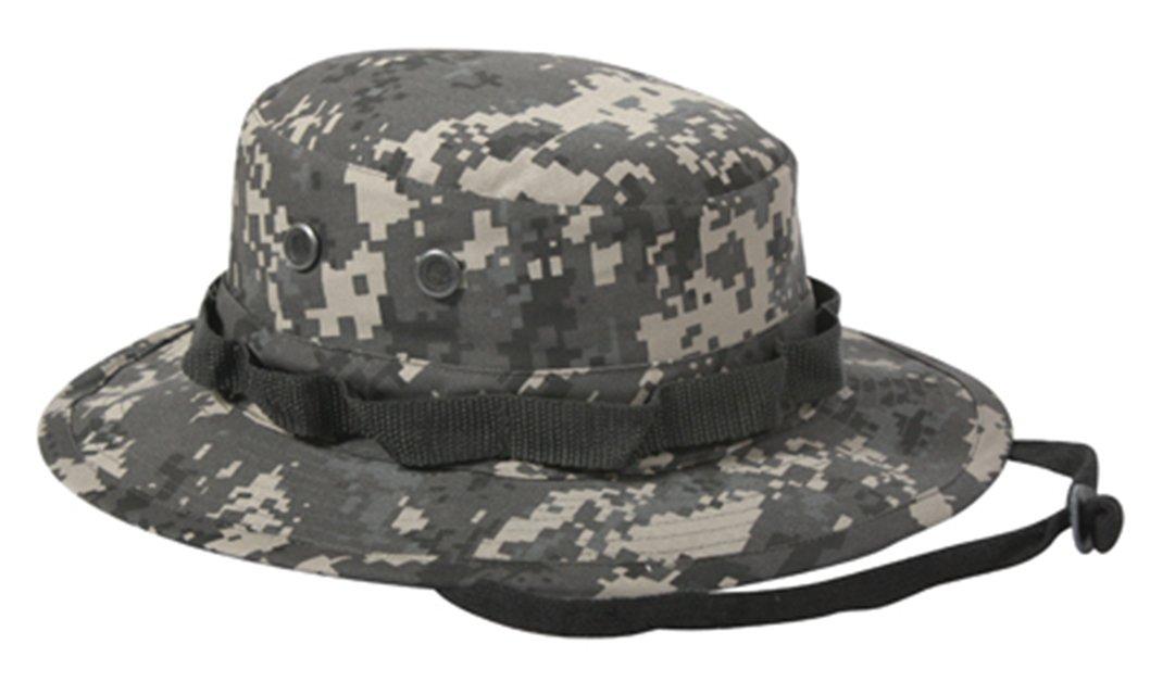 PROPPER Men/'s Twill Boonie Sun Hat 7 Woodland Digital for sale online