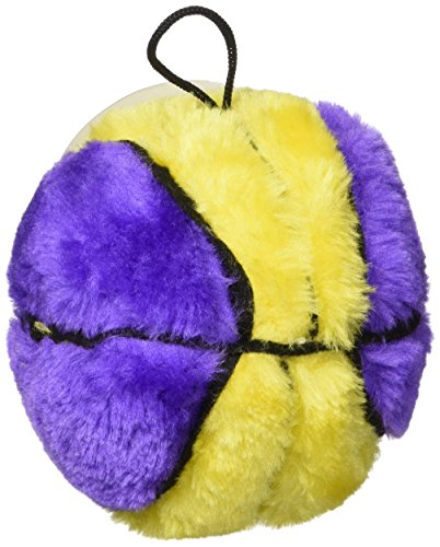 - Ethical Plush Basketball Dog Toy, 4-1/2-Inch colors may vary