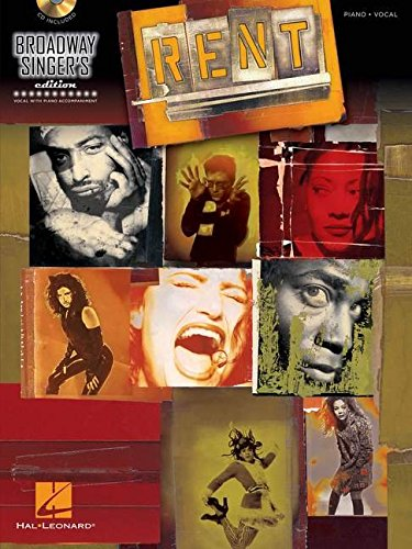 Rent: Broadway Singer's Edition (Book/CD)