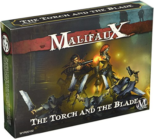Miniatures Wyrd - Wyrd Miniatures Malifaux Guild Torch and The Blade Crew Model Kit