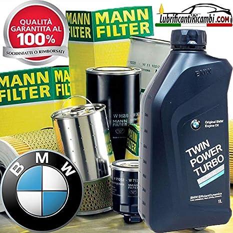 Kit de Aceite de Motor BMW de litros + filtros Mann para BMW X1 (GPS) 16d| 15-: Amazon.es: Coche y moto