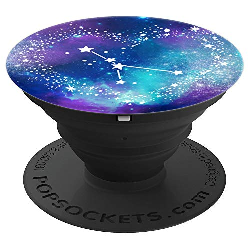 Cancer Zodiac Sign Constellation Stars & Cosmic Galaxy - PopSockets Grip and Stand for Phones and Tablets