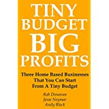 TINY BUDGET, BIG PROFITS: Three Home Based Businesses That You Can Start From A Tiny Budget