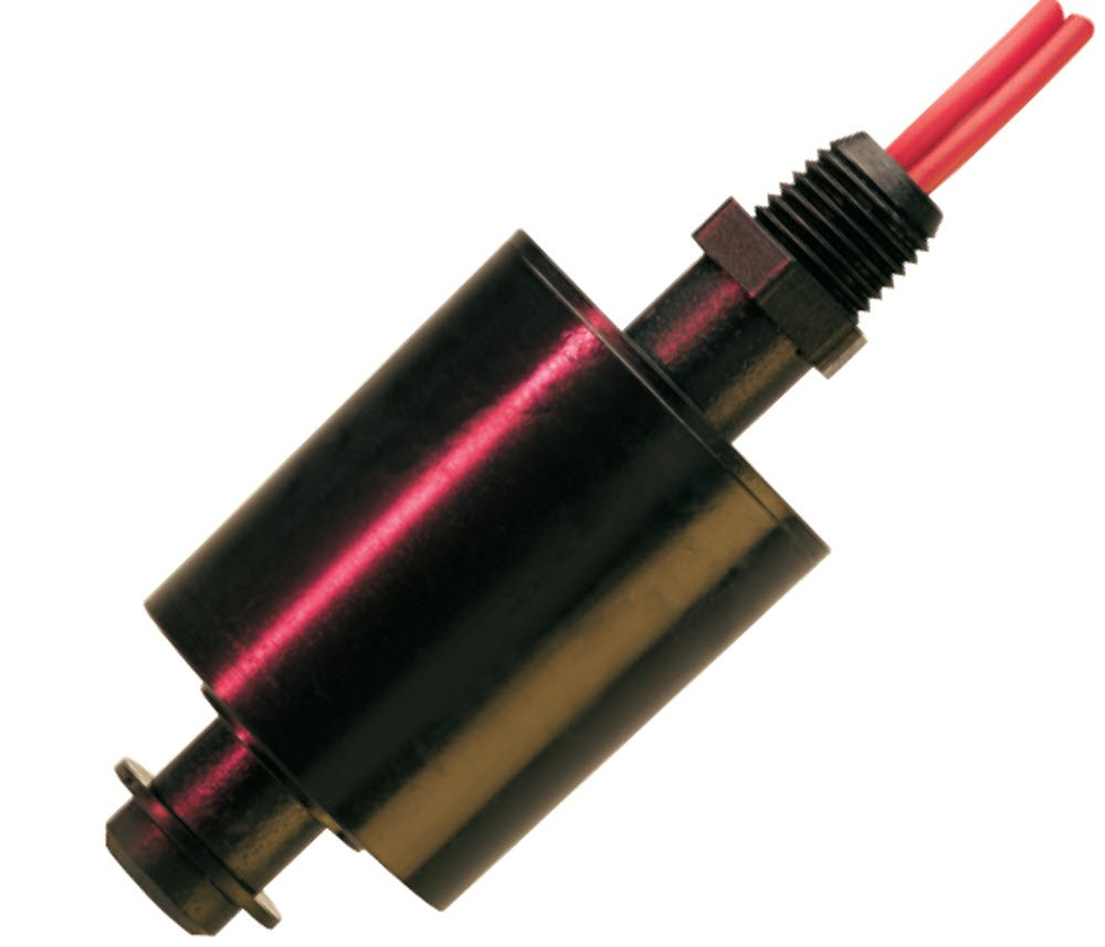Gems Sensors 74780 CPVC Float Single Point Engineered Plastic Level Switch, 1-1/2'' Diameter, 1/4'' NPT Male, 3/4'' Actuation Level, SPST/Normally Open