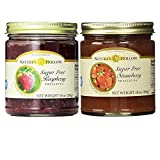 Nature's Hollow, Sugar-Free Jam Preserves Variety Pack - Strawberry and Raspberry 2-Pack, 10 Ounces Each