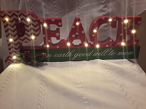 Peace On Earth Outdoor Light
