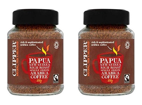 (2 PACK) - Clipper Instant Coffee - Papua New Guinea| 100 g |2 PACK - SUPER SAVER - SAVE MONEY