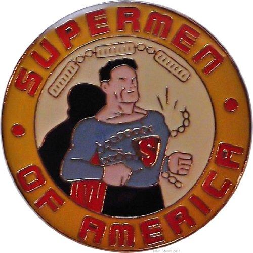 f America 1950's Fan Club Logo PIN (Club Enamel Pin)