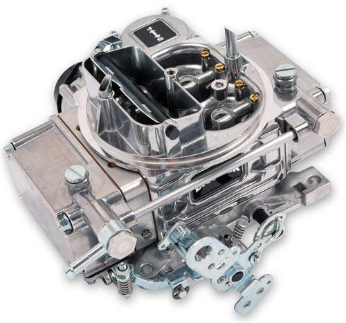 Quick Fuel BR-67270 Brawler Diecast Carburetor 600 CFM With Vacuum  Secondary Adj