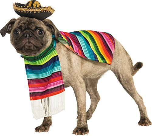 M&m Poncho Costume (Rubie's Pet Costume, Medium, Mexican)