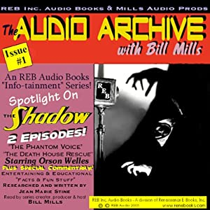 A 'Shadow' Audio Double-Feature, Starring Orson Welles, Volume 1 Radio/TV Program