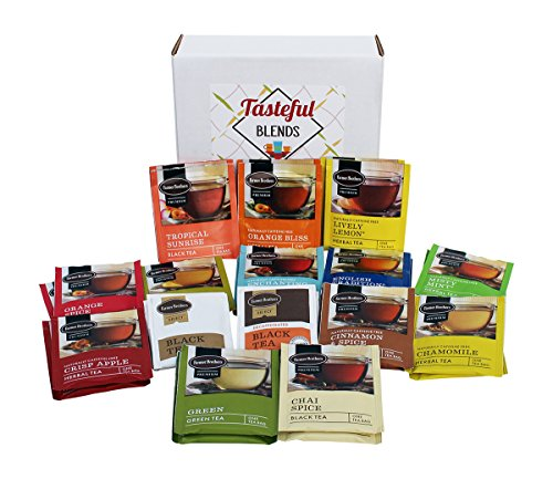 - Tea Bags Variety Pack. An Assortment Of (30) Tea Packets. Sampler Set Of Different Tea Flavors From Farmer Brothers.