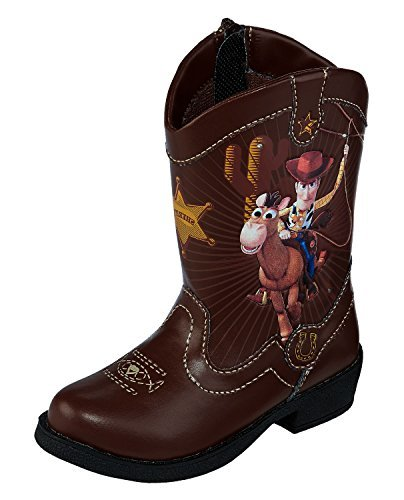 Disney Pixar Toy Story Woody Light Up Toddler Boys Cowboy Boots (11)