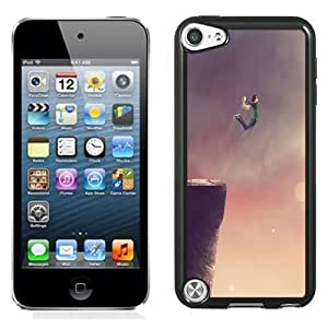 NEW Unique Custom Designed iPod Touch 5 Phone Case With Jump Of The Cliff_Black Phone Case