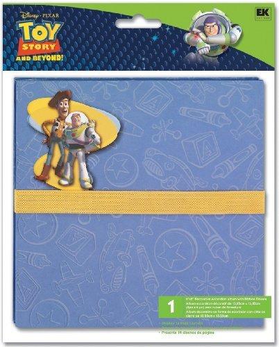 EK Success Disney Accordion Album 6 Inch by 6 Inch, Toy Story