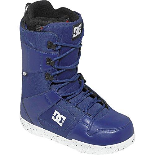 DC Men's Phase Snowboard Boot, Black/Blue, 7.5D