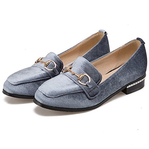 On Grey Spring 6245 Flat Shoes Women's Slip TAOFFEN wvq6H