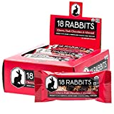 18 Rabbits Organic Gluten Free Granola Bar, Cherry, Dark Chocolate & Almond, 1.6 Ounce (Pack of 12)
