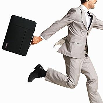 HSEOK MacBook Air//Pro 13,3 Pouces Housse de PC Portable Sacoche Ordinateur Portable /Étui Antichoc Certifi/é R/ésistant /à leau /& Plus 13-14 Pouces Sac /à Main Mallette Housse Gris