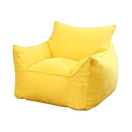 XUE Bean Bag Chair: Funda de Espuma de Memoria y sofá Grande ...