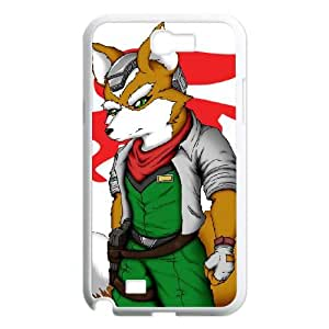 Samsung Galaxy N2 7100 Cell Phone Case White Super Smash Bros Fox McCloud OJ577355