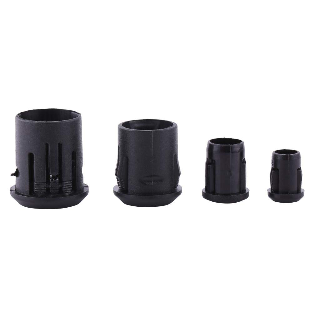10mm Black Lamp Diode Holder 3mm 5mm 8mm 10mm LED 50Pcs Lamp Socket Diode Holder Made of Plastic