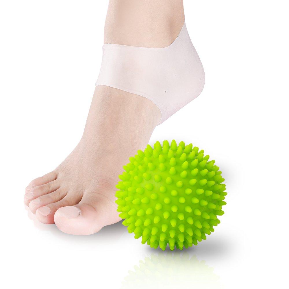 Bola de masaje NURSAL conjunto de bola de masaje con par de