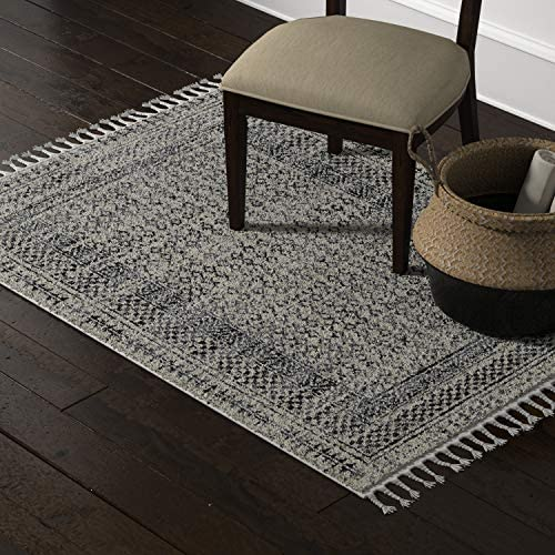 Amazon Brand Stone Beam Modern Vintage-Look Area Rug