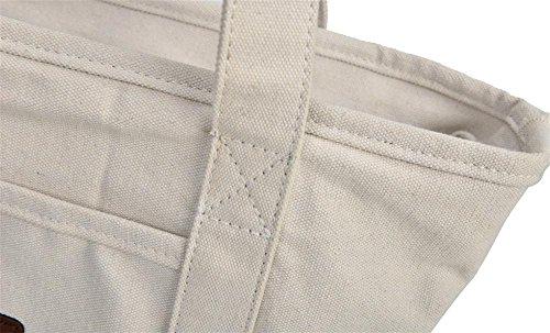 bandoulière portatif Sac en Sac Brand HYSH Multifonctions Toile féminin à capacité Grande fourre Tide Tout xIzzPqFwX
