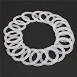 20 PCS Sanitary triCLAMP Tri CLAMP Silicone Gasket 1.5'' (1.5 inch) Dairy Brewing TRI Clover