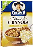 Quaker Natural Granola with Oats, Honey & Almounds Cereal 28 oz