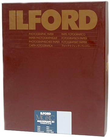 Ilford Warmtone MGRC Pearl 9.5x12 inches 50 Sheets 24x30.5 centimetres
