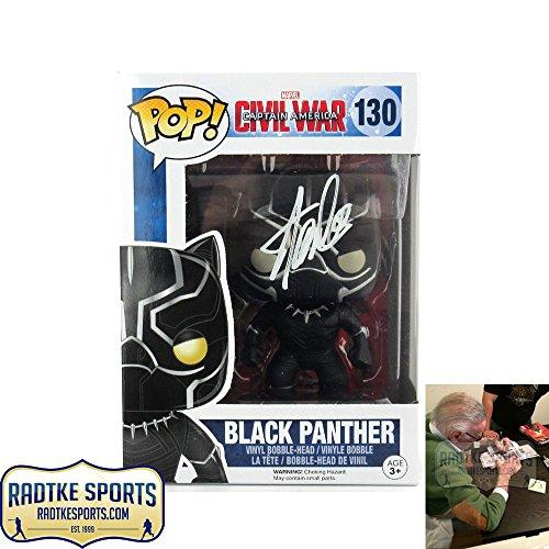 Stan Lee Autographed/Signed Funko Pop! Marvel Civil War B...