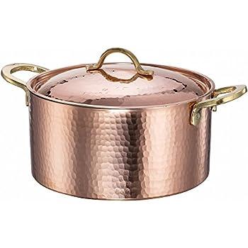 Amazon Com Kitchenaid Kcp60lccp Tri Ply Copper 6 Quart