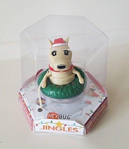 Hexbug Jingles - ¡El cachorro de vacaciones alegre y motorizado!