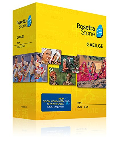 Learn Irish: Rosetta Stone Irish - Level 1-3 Set
