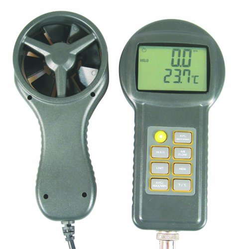 General Tools & Instruments DCFM700 Digital Anemometer with CFM General Tools and Instruments