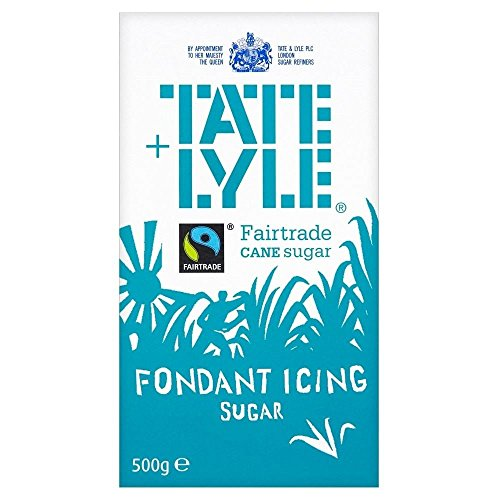 Tate & Lyle Fairtrade Fondant Icing Sugar (500g) - Pack of 2 ()