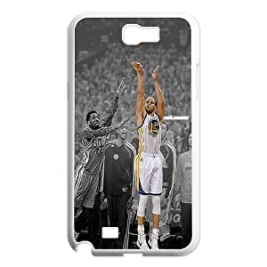 James-Bagg Phone case Basketball Super Star Stephen Curry Protective Case For Samsung Galaxy Note 2 Case Style-18 WANGJING JINDA