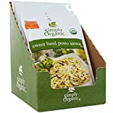 Simply Organic, Sweet Basil Pesto Sauce Mix, 12 Packets, 0.53 oz (15 g) Each - 2pcs