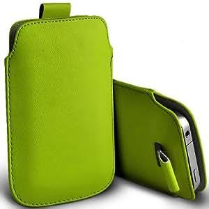 Tailor My Mobile - Samsung Galaxy A5 Prima Soft PU Tire Tab Flip Case cubierta de bolsa - Verde