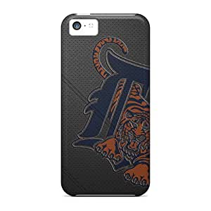 Shock Absorbent Hard Phone Cover For Iphone 5c With Provide Private Custom HD Detroit Tigers Series JonathanMaedel