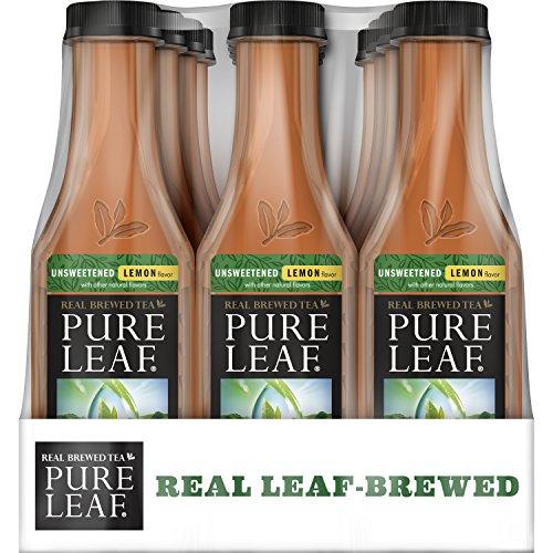 pure-leaf-iced-tea-unsweetened-lemon-real-brewed-black-tea-0-calories-185-ounce-pack-of-12