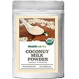 organic dehydrated coconut - Healthworks Coconut Milk Powder Organic (Dairy Free), 1lb