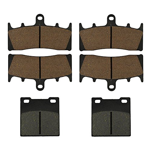 2006 Ebc Brakes - AHL Semi-metallic Front & Rear Brake Pads Set for Suzuki GSX1300 R Hayabusa 1999-2007