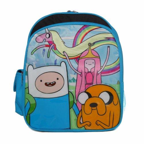 (Ruz Adventure Time Jake, Finn and Princess Bubblegum Small Backpack)