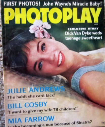 Photoplay Magazine June 1966 with Debbie Reyholds on the cover. Inside: full page ad for ELVIS PRESLEY new RCA VICTOR album, articles on Dick Van Dyke, Mia Farrow, Julie Andrews, Glenn Ford, Smothers Brothers, Adam West (TVs BATMAN), Robert Redford.. Excellent condition. - Elvis Presley Album Covers